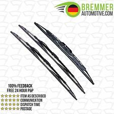 Renault Espace MPV MK 2 (1991 to 1997) Wiper Blade Complete Set X3 Front Rear