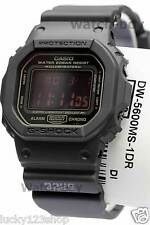 DW-5600MS-1D Black Red Eye Casio G-shock Men's Watches 200m Resin Band Classic