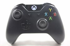 USED Xbox One Wireless Controller - Black (Model 1697)**A-BUTTON VERY WORN**