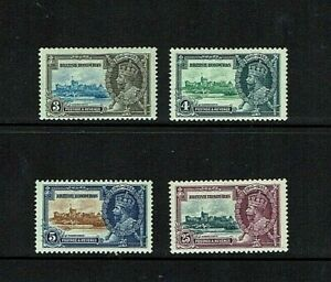 British Honduras: 1935. King George V Silver Jubilee, Mint mounted.