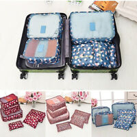 Case Suitcase Laundry Travel Bag Clothes Organizer Luggage Pouch Storage Bags