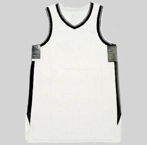 NEW Nike Brooklyn Nets Aeroswift Unprinted White/Blank XXL 56 AH9335 $200