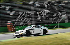 D'Ambrosio / Leclerc / Tappy SIGNED M-Sport Bentley GT3, BES  Monza Italy  2014