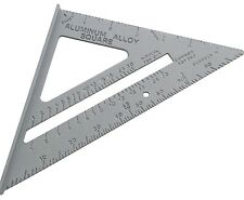 "6"" 150mm Aluminium Roofing Square Level Ruler Easy To Read Scale 0 to 180-Amtech"