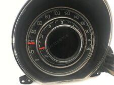Fiat 500 2007-2014 Cerclages De Compteur Aluminium Anneaux Chrome Neuf x2