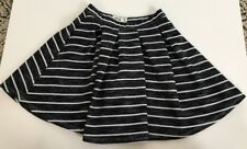 Anercrombie Kids Blk/wht Striped Skirt Size Small (10)