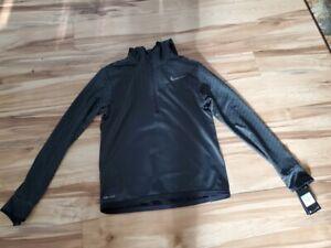 NWT Nike Dri-FIT Men's Training Hoodie - Black 860941-010 - Medium