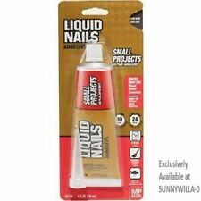 New listing Liquid Nails Ln-700 4-Ounce and Repairs Adhesive Small Projects
