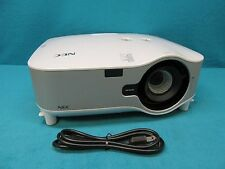 NEC Model NP1000 LCD Multimedia Projector with 3500 ANSI Lumens Working Lamp
