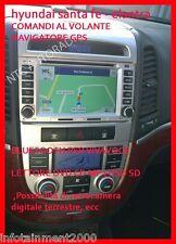 "AUTORADIO 6,2"" Android Hyundai Santa fe Elantra Comandi al volante Navigatore"