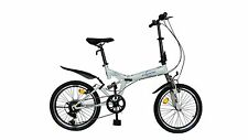 "ecosmo 20 "" pliable montagne vélo bicyclette 6SP shimano-20sf02w"