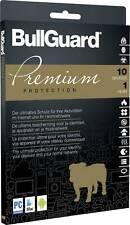 BullGuard Antivirenprogramm Premium Protection, 1 Jahr/10 Geräte