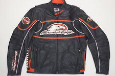 Harley Davidson Men's Screamin Eagle Leather Jacket XL Raceway 98226-06VM RARE