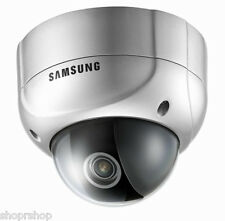"Samsung Svd-4600 - 1/3"" High Resolution, Wdr Vandal-Resistant Dome Camera"