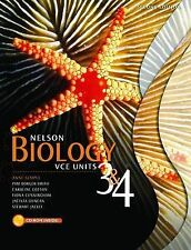 Nelson Biology VCE Units 3 and 4. Anne Semple, Pam Borger
