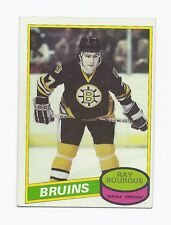 1980-81 OPC  # 140 BRUINS RAY BOURQUE ROOKIE EX-MT CARD