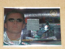 2005 Futera Grand Prix Racing Memorabilia Gloves Card - HERBERT  #125/295