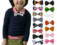 Wholesale Lots Children kids Wedding Tuxedo Bowtie Baby Boys Bow Ties Necktie