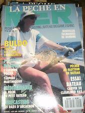 La pêche en mer N°59 Buldo Cannes Moulinets Espadon voilier Tarpons martiniquais