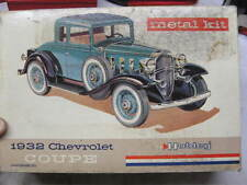 Vintage Hubley 1932 Chevrolet Coupe Metal Model Kit New in Box