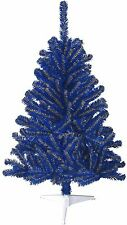 Toledo Walleye Blue & Yellow 4ft Christmas Tree, Premium Full Artificial W/Stand