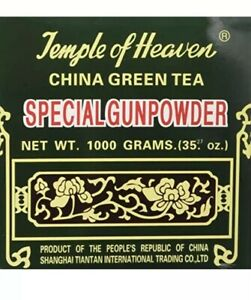 Authentic Temple of Heaven China Green Tea Special Gunpowder Healthy Herbal 1Kg
