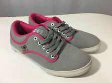 Vlado Spectro 3.2 Grey/Pink Women's Canvas Casual Fashion Shoes Size 8