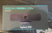 Logitech C925e Business Webcam with 1080p Full HD & integrated privacy shutter