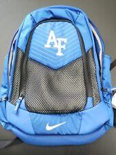 AF air force nike blue / black mesh book bag tote labtop school back pack