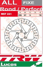Disque de Frein Avant TRW Lucas MST231 Ø3295 Suzuki VS 600 Intruder VN51B 95-97