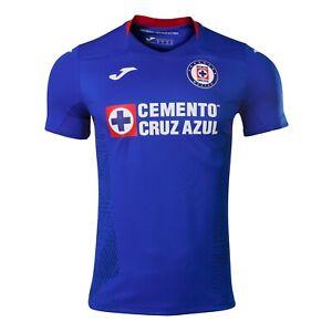 CRZ101011.20 Joma Cruz Azul Home Jersey 20/21 YOUTH Blue Size YM (KIDS)