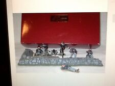 Britains 17532 Civil War Fire At The Angle Union Cannon Soldiers Stone Wall Set