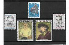 Mónaco Personajes Picasso y otros Serie del año 1981 (EY-101)