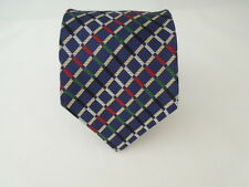 HUNTER HL LONDON SILK TIE SETA CRAVATTA MADE IN ITALY  5489