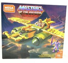 Mega Construx Masters Of The Universe Wind Raider Attack 198pc Set He-Man