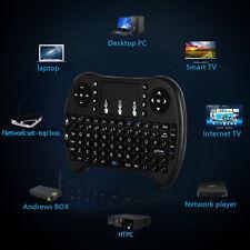 2.4GHz Mini Funk Kabellos Tastatur Touch Wireless Keyboard QWERTZ für Smart TV