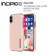Genuine Incipio Dual Pro Two Layer Impact Case for iPhone X in Rose Gold