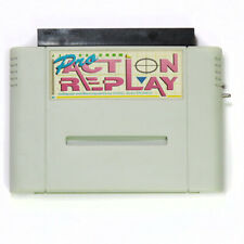 Super Nintendo SNES Pro Action Replay With Code Book