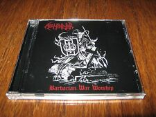 "ABOMINATOR ""Barbarian War Worship"" CD destroyer 666 beherit"