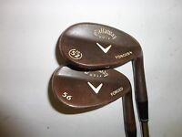 Callaway Forged + Wedge Set 56 and 52 31 in shaft