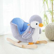 Homcom Children's Plush Rocking Penguin with Music Button (330-096)