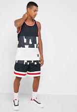 Nike Air Pantaloncini Maglia Uomo Basket Casual Palestra Vela / Nero Medio
