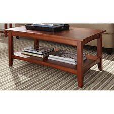 Alaterre ASCA1160 Shaker Cottage Coffee Table, Cherry New
