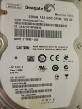 500 gb Seagate st9500420as p/n 9hv144-022 006hpm1 wu Disque dur Thin disc x144