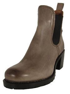 $378 Frye Womens Sabrina Chelsea Boot Shoes, Stone, US 9.5