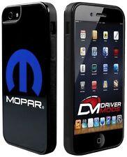 Cell Phone Cases Cover Skin for Apple iPhone 5 MOPAR Logo Black Blue White