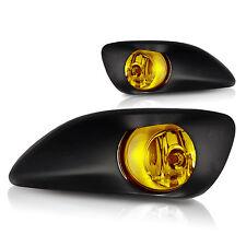 2006-2012 Toyota Yaris 4 Door Replacement Fog Lamp Set w/Wiring Kit - Yellow