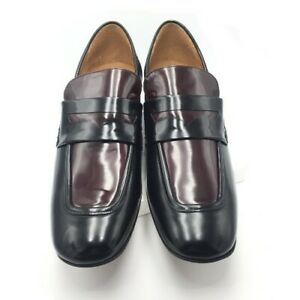 Marc Jacobs Men's Shoes S87WR0046 Color: Dark Burgundy Size:8 Europe: 42