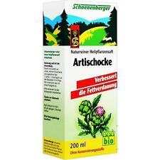 ARTISCHOCKEN SAFT Schoenenberger 200ml PZN 692038