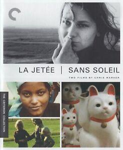LA JETEE / SANS SOLEIL (1962-83) dir: Marker / Blu-ray / Criterion / Mint as new